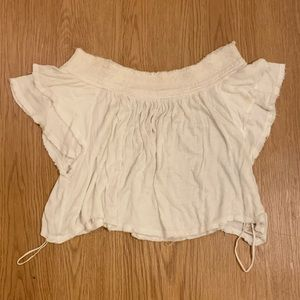 Free People Off the Shoulder Shirt